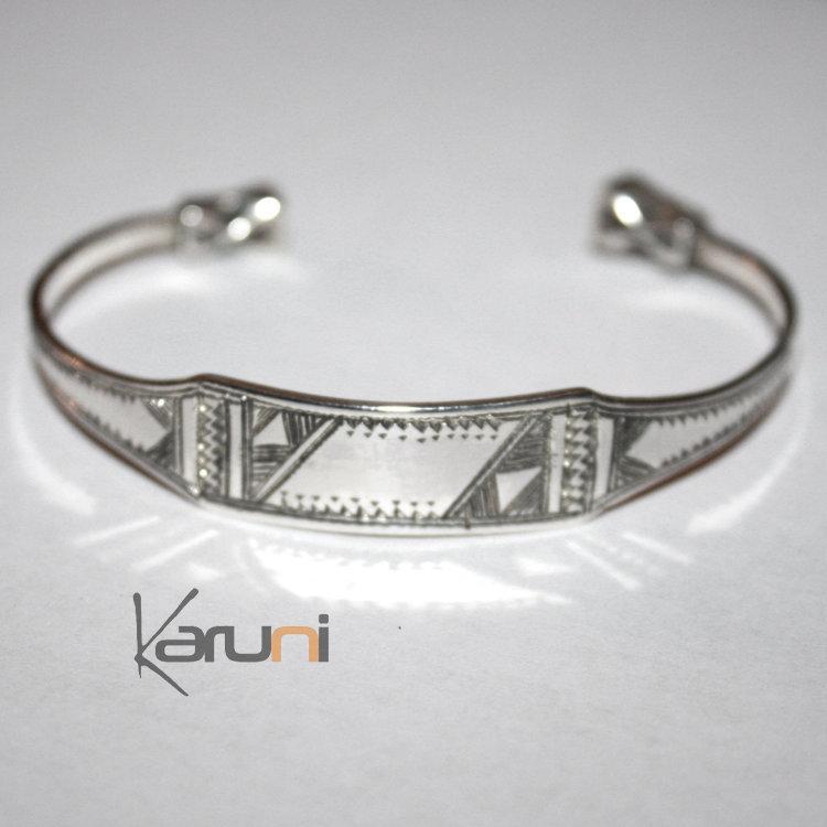 bijoux touareg ethniques bracelet gourmette en argent homme femme 05 large. Black Bedroom Furniture Sets. Home Design Ideas