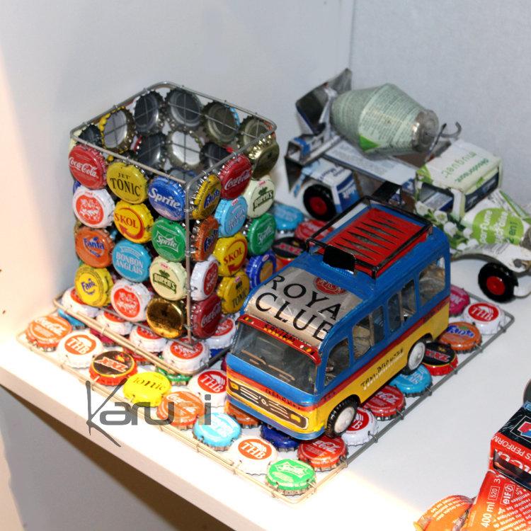 Dessous de plat capsule original rigolo multicolore design - Dessous de plat original ...