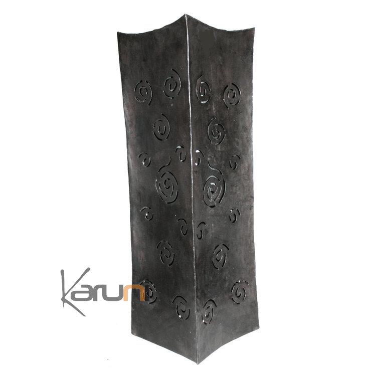 vase design rectangle haut 70 cm lampe luminaire m tal. Black Bedroom Furniture Sets. Home Design Ideas