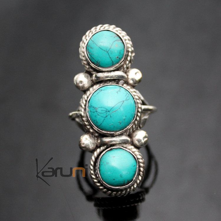 Bijoux Ethnique Argent Turquoise : Bijoux turquoise