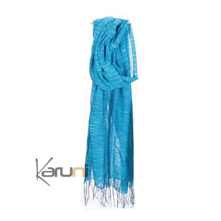 5cbceb63367 echarpe femme turquoise