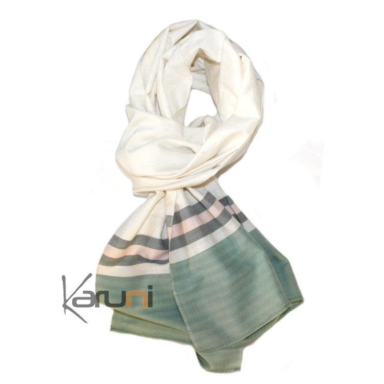 Foulard femme vert snood chaud femme   Zebux 1f07a21c1aa