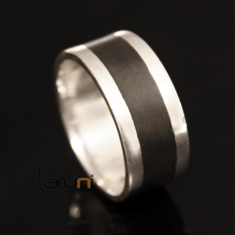 bague mariage homme main #5