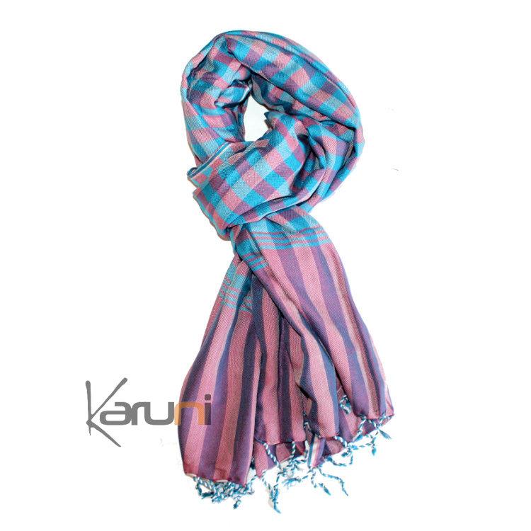 Echarpe turquoise femme - Idée pour s habiller e02c01e1ff7