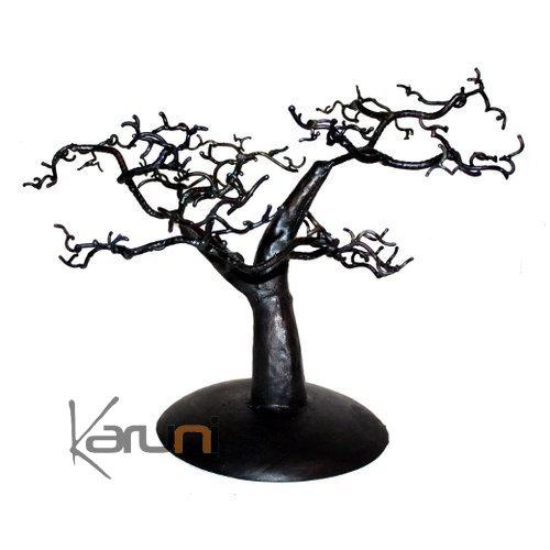 arbre bijoux porte bijoux design c dre 25 30 cm m tal. Black Bedroom Furniture Sets. Home Design Ideas