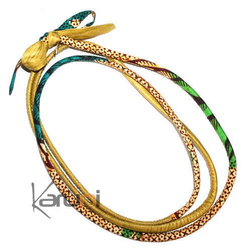 pin bracelet en tissu africain porte bonheur bijoux par. Black Bedroom Furniture Sets. Home Design Ideas