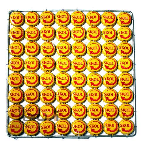 Dessous de plat capsule original rigolo jaune design - Dessous de plat original ...