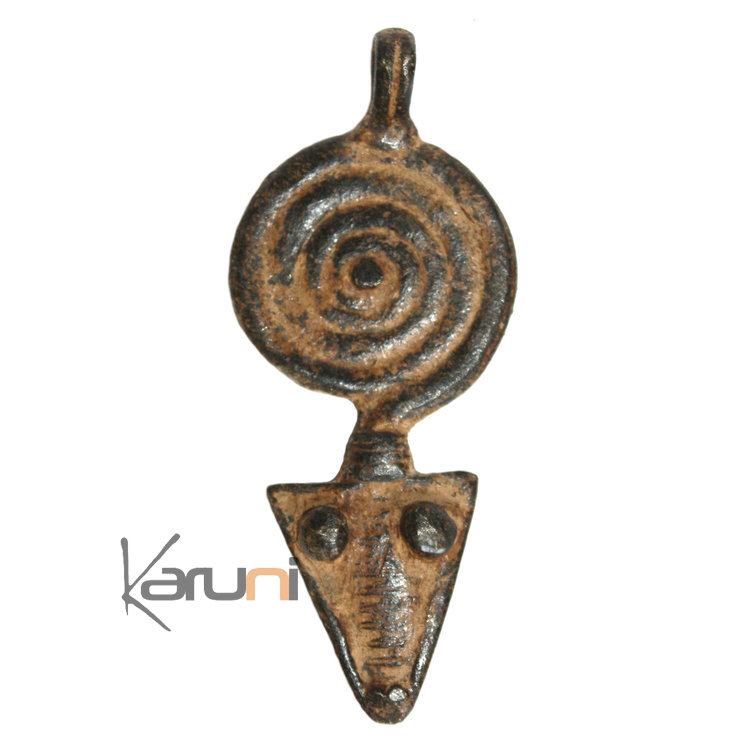 art dogon africain bronze pendentif amulette sculpture mali d coration ethnique afrique 24 serpent. Black Bedroom Furniture Sets. Home Design Ideas