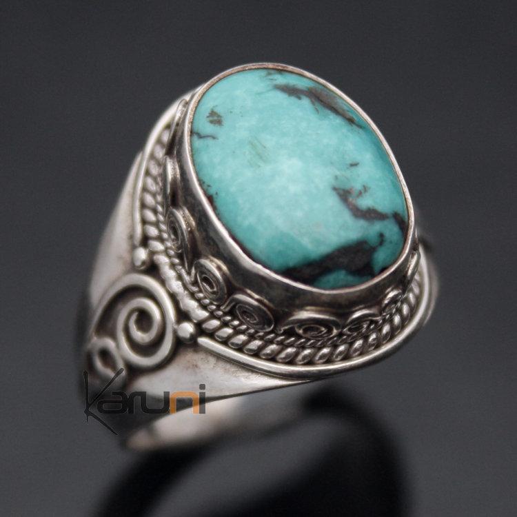 bague en argent avec pierre turquoise silver rings. Black Bedroom Furniture Sets. Home Design Ideas