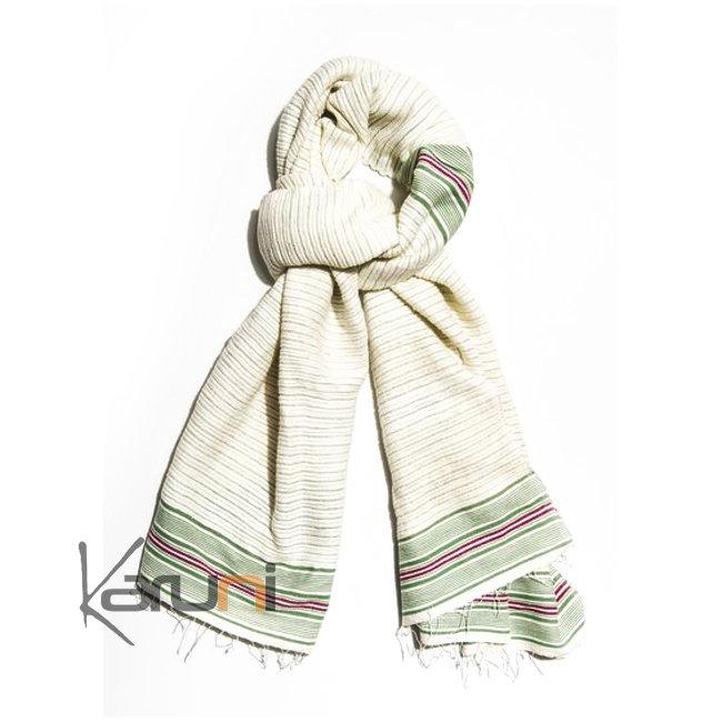 etole echarpe foulard femme en coton tiss d 39 ethiopie epais tule gabi blanche vert rose dana. Black Bedroom Furniture Sets. Home Design Ideas