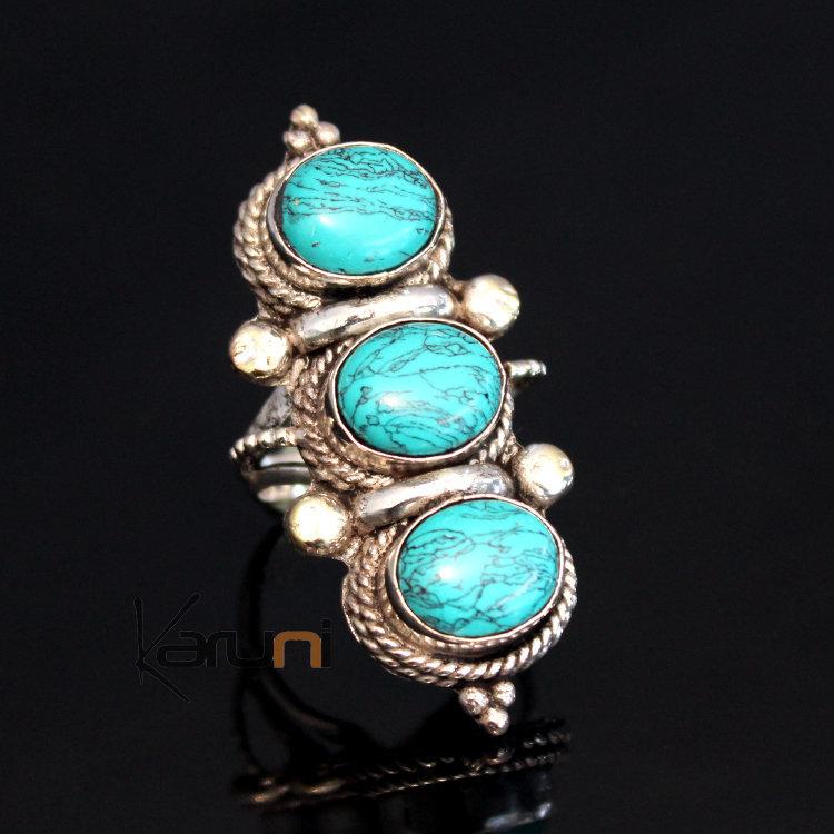 Bijoux Ethnique Argent Turquoise : Bijoux turquoise argent