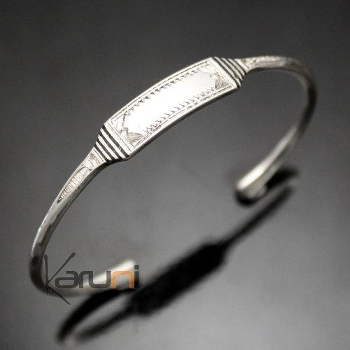 bijoux touareg ethniques bracelet gourmette en argent homme femme 13. Black Bedroom Furniture Sets. Home Design Ideas
