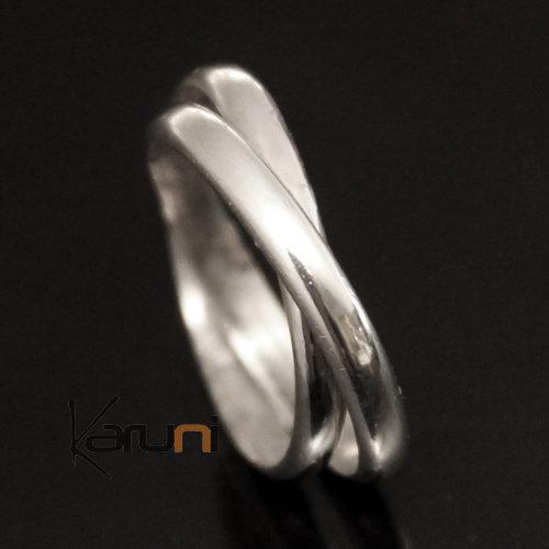 bijoux ethniques touareg bague alliance anneau en argent homme femme 02 double anneau fin. Black Bedroom Furniture Sets. Home Design Ideas