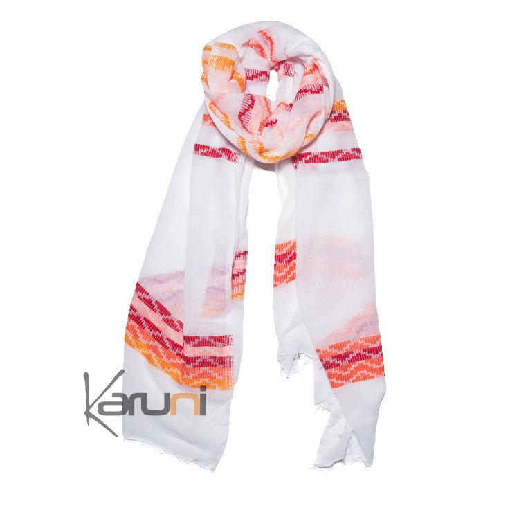 etole echarpe foulard femme en coton tiss d 39 ethiopie. Black Bedroom Furniture Sets. Home Design Ideas
