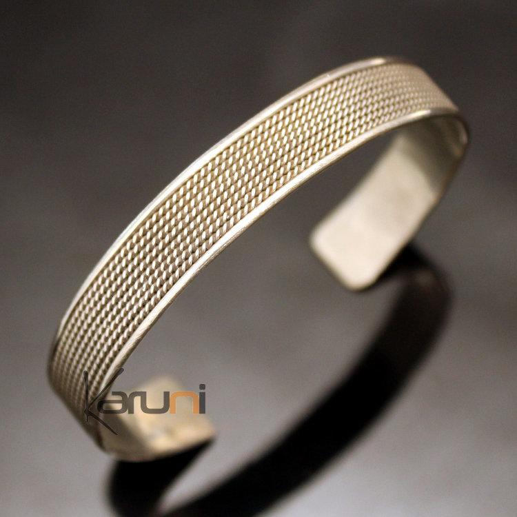 bijoux ethniques indiens bracelet jonc en plaqu argent homme femme nepal 19 plat filigranes. Black Bedroom Furniture Sets. Home Design Ideas