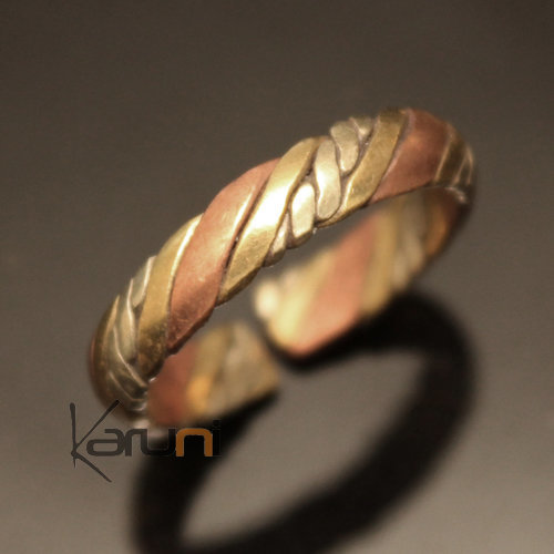 bijoux indiens ethniques bague anneau alliance en bronze cuivre argent mix homme femme 02 tresse. Black Bedroom Furniture Sets. Home Design Ideas