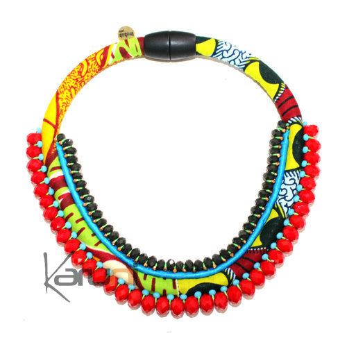 Createur Bijou Fantaisie Paris : Bijoux ethniques cr?ateurs africain collier plastron en