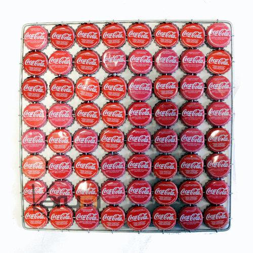 Dessous de plat capsule original rigolo rouge coca design - Dessous de plat original ...