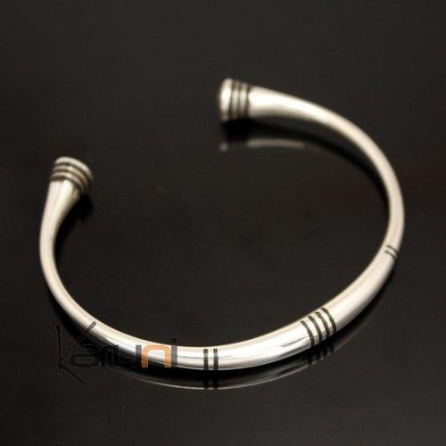bijoux touareg ethniques bracelet en argent rond homme. Black Bedroom Furniture Sets. Home Design Ideas