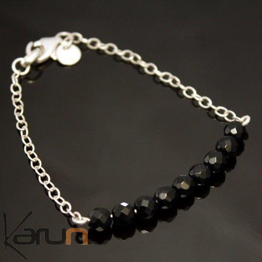 bracelet perle a facette