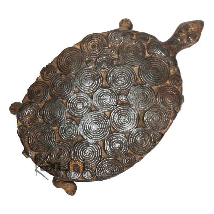 art dogon bronze animal tortue sculpture africain mali d coration ethnique afrique plate 15 cm. Black Bedroom Furniture Sets. Home Design Ideas