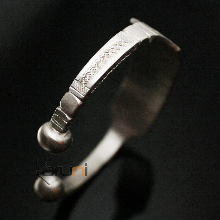 Bracelet en Argent 750 Gourmette Mauritanie homme 08