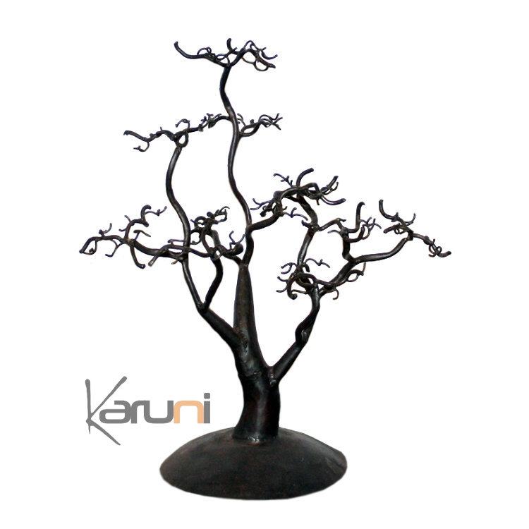 arbre bijoux porte bijoux design arbre 30 35 cm m tal. Black Bedroom Furniture Sets. Home Design Ideas