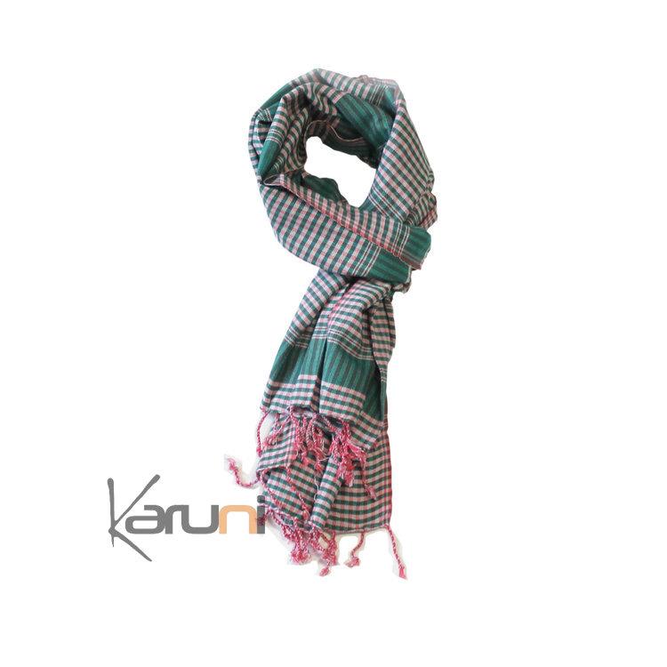 c0a98855a12 krama cheche foulard echarpe coton homme femme