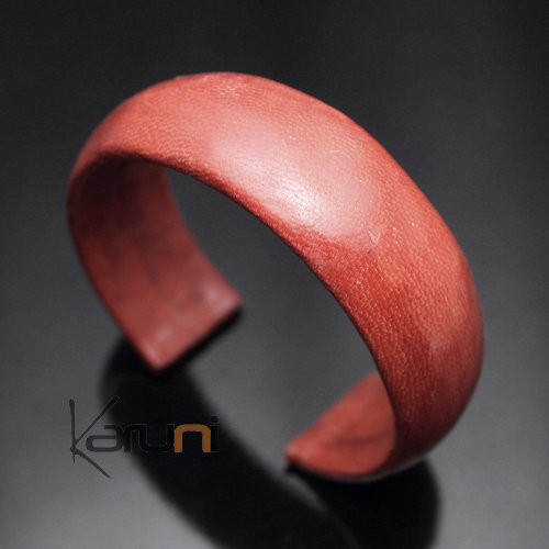 Bracelet en Cuir Large 14 Marron