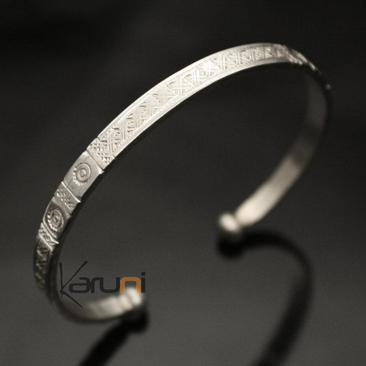bijoux ethniques touareg africains bracelet en argent 750 de mauritanie homme femme 10. Black Bedroom Furniture Sets. Home Design Ideas