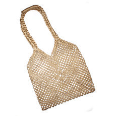 Sac au Crochet Ficelle Shopping Bag Filet Mode Cambodge Design Ethnique Tendance Naturel Sarany Shop