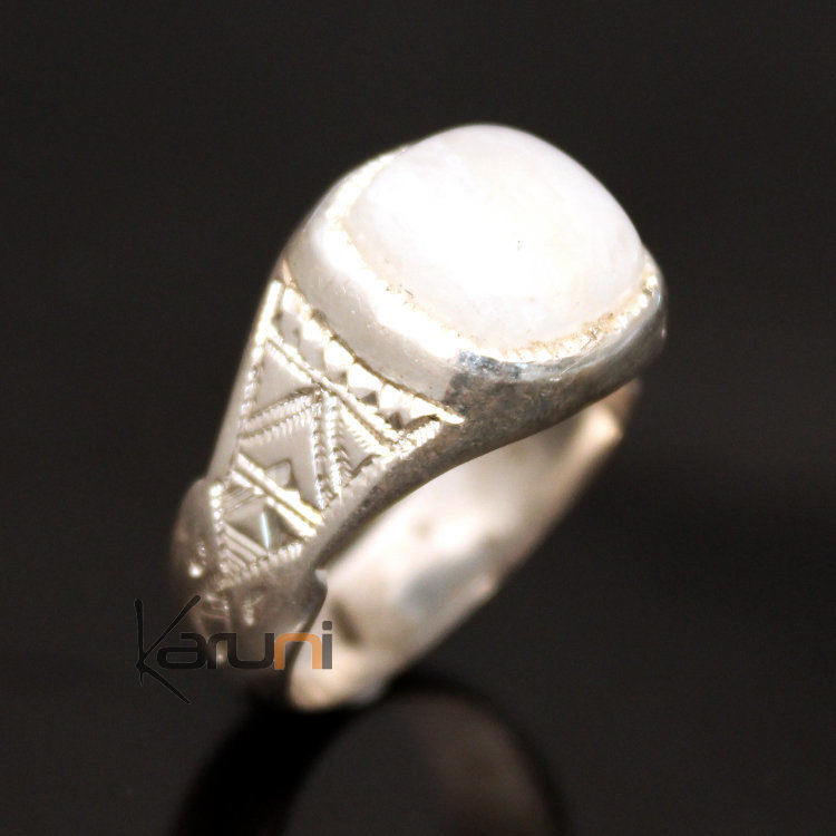 Bracelet homme pierre de lune