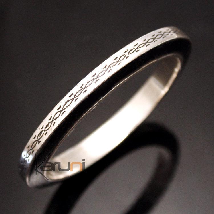 731ead9162734 Bijoux Touareg Ethniques Bracelet Argent Et Ebène Carré – jewelry