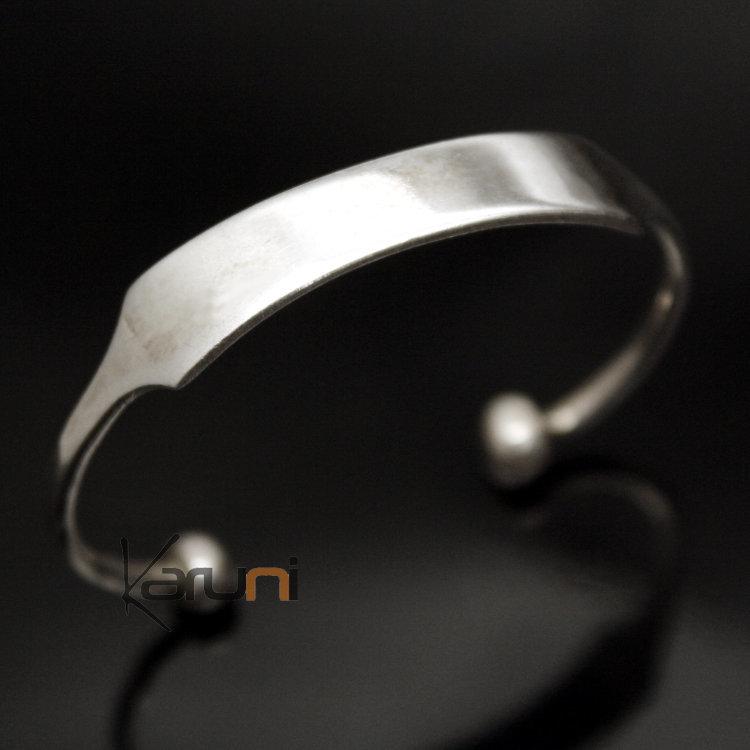 bracelet argent africain enfant