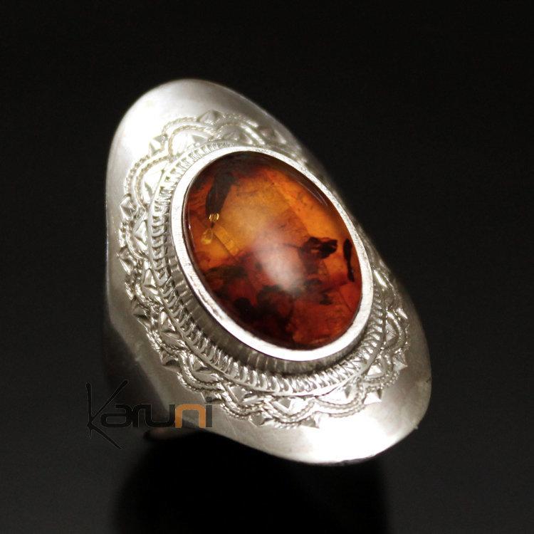 bijoux ethniques argent ambre