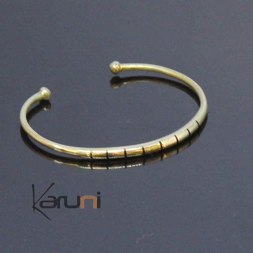 African Bracelet Ethnic Jewelry Bronze Ebene Mali Men/Women Tuareg Tribe Design