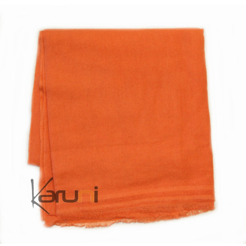 Echarpe Cachemire Pashmina Orange