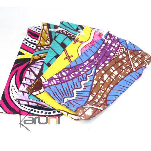 Pochette Wax multicolore 03