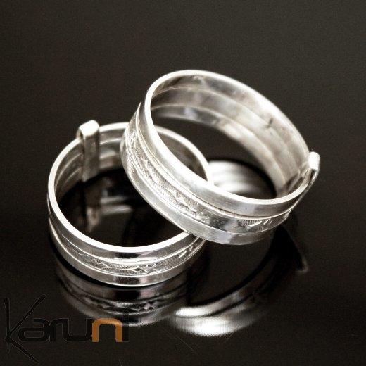 bague en argent 3 anneaux